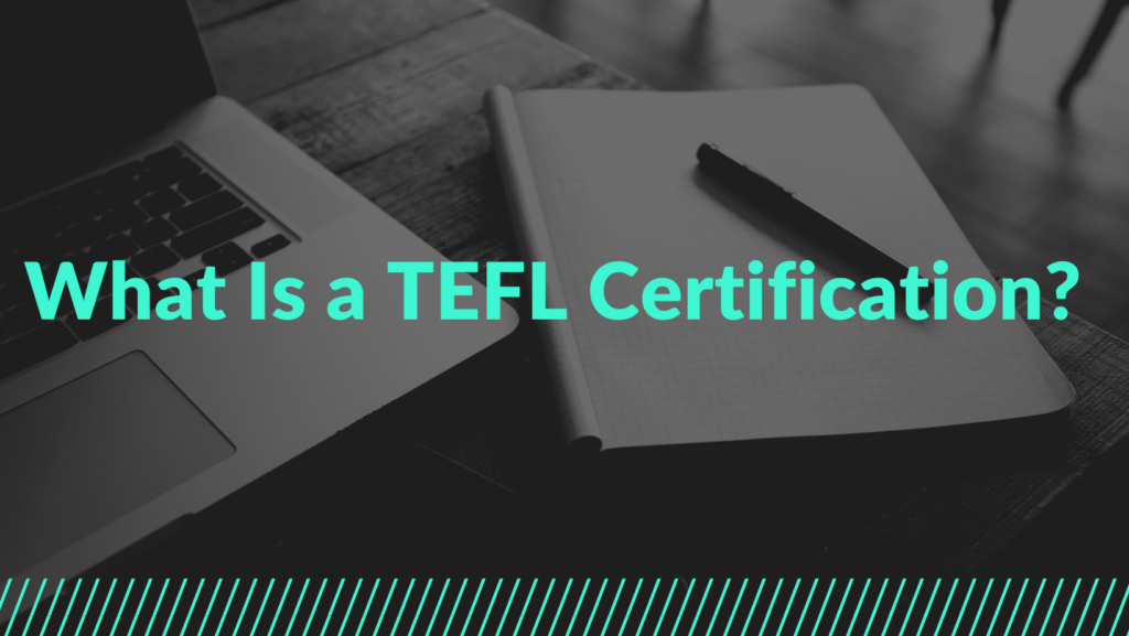 what is tefl certification